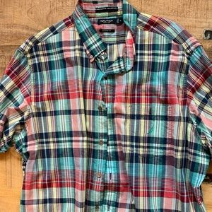Nautica short sleeve button down